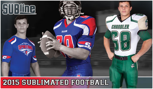 Sublimated Football